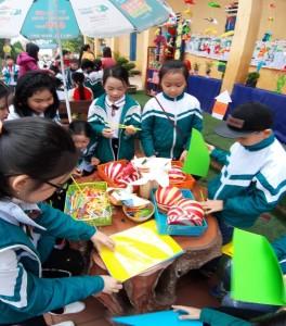 Trường Tiểu học Nam Mỹ huyện Nam Trực - Giao lưu các Câu lạc bộ chào xuân 2019