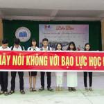 Bài tuyên truyền về chống bạo lực học đường